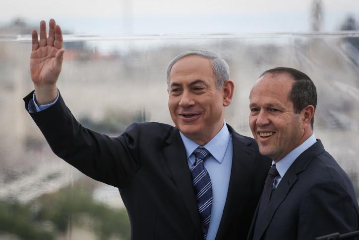 Netanyahu y Barkat